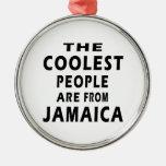 La gente más fresca es de Jamaica Ornaments Para Arbol De Navidad