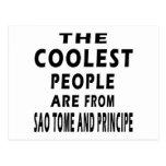 La gente más fresca es de Sao Tome and Principe Tarjetas Postales