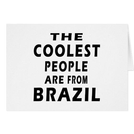La gente más fresca es del Brasil Tarjeton