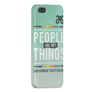 La gente no es cosas. caso del iPhone 5 iPhone 5 Protectores