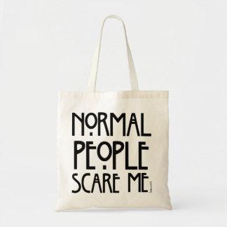 La gente normal me asusta - un bolso de moda bolsa tela barata