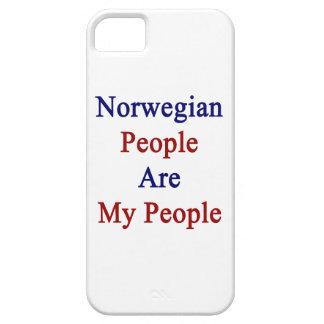 La gente noruega es mi gente iPhone 5 cárcasas