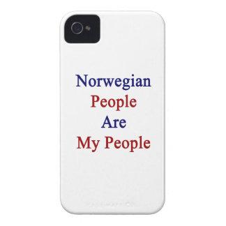 La gente noruega es mi gente iPhone 4 cárcasa