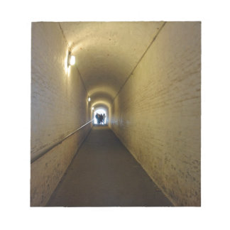 La gente que camina abajo del túnel en Dover se Bloc