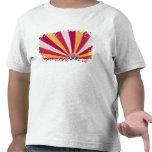 La gente que llena un aire caliente hincha, Fort Camiseta