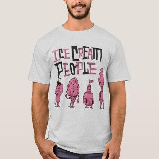 """La gente """"rosa del helado embroma """" playera"""