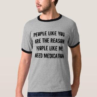 La gente tiene gusto de usted, es la gente de la playera