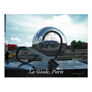 La Gèode, Paris Postcard