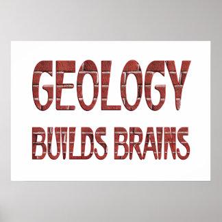 La geología construye cerebros posters