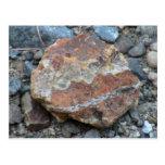 La geología de Umatilla Oregon oscila la piedra de Postal