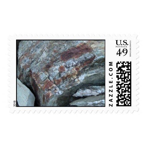 La geología de Yolly Bolly Ca oscila la piedra de Sello