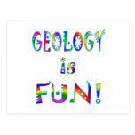 La geología es diversión postal