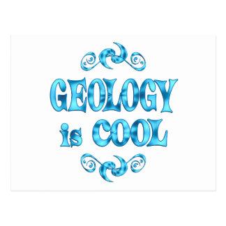 La geología es fresca postal