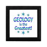 La geología es la más grande caja de regalo