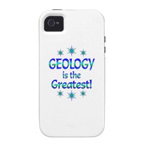 La geología es la más grande iPhone 4 carcasa