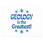 La geología es la más grande postal