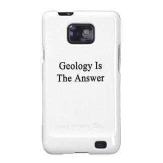 La geología es la respuesta galaxy SII funda