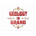 La geología es magnífica postales