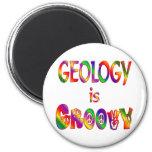 La geología es maravillosa imán de frigorifico
