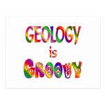 La geología es maravillosa tarjeta postal