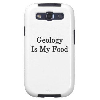 La geología es mi comida samsung galaxy s3 carcasa