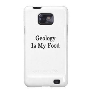 La geología es mi comida samsung galaxy SII funda