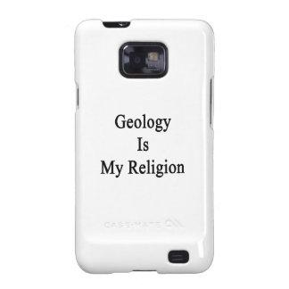 La geología es mi religión galaxy SII funda
