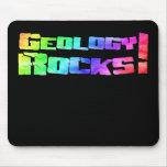 La geología oscila Mousepad Tapete De Ratones
