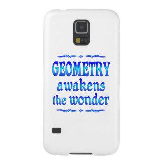 La geometría despierta funda para galaxy s5