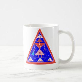 La Geometrics-Taza-Triángulo-Edad 6 Taza De Café