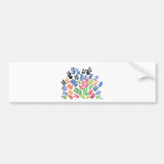 La Gerbe by Matisse Bumper Sticker