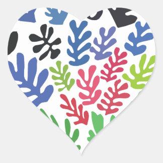 La Gerbe by Matisse Heart Sticker