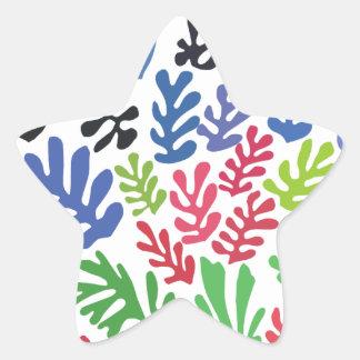 La Gerbe by Matisse Star Sticker