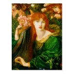 La Ghirlandata by Dante Gabriel Rossetti Post Cards