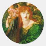 La Ghirlandata by Dante Gabriel Rossetti Stickers