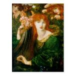 La Ghirlandata - Dante Gabriel Rossetti Postales