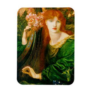 La Ghirlandata Pre-Raphaelite Flexible MAGNET