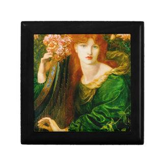 La Ghirlandata Pre-Raphaelite Lacquered Box
