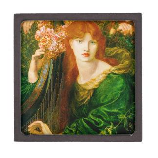 La Ghirlandata Pre-Raphaelite Tiled Box