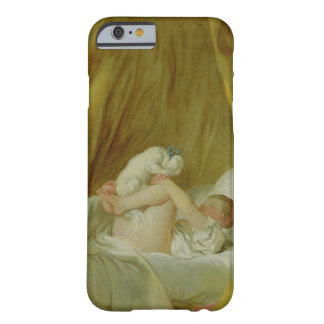 'La Gimblette', Girl with a Dog, c.1770 (oil on ca Barely There iPhone 6 Case