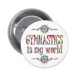 La gimnasia es mi mundo pins