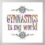 La gimnasia es mi mundo posters