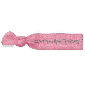 La gimnasia por su pelo conocido ata rosa banda para el cabello
