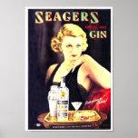 La ginebra de Seager Poster