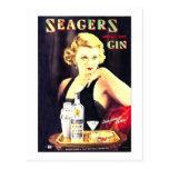 La ginebra de Seager Tarjetas Postales