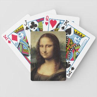 La Gioconda de Mona Lisa de Leonardo da Vinci Baraja Cartas De Poker