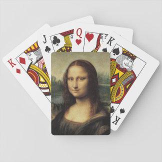 La Gioconda de Mona Lisa de Leonardo da Vinci Baraja De Póquer