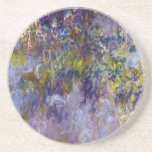 La glicinia (dejada) por Claudet Monet, vintage fl