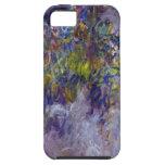 La glicinia (dejada) por Claudet Monet, vintage iPhone 5 Protector