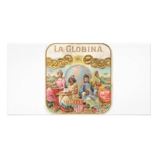 La Globina Cigar Label Personalized Photo Card